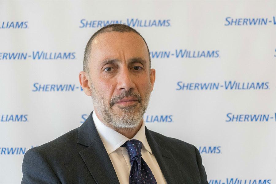 Sherwin-Williams Italy presenta il nuovo South Europe Senior Commercial Director.